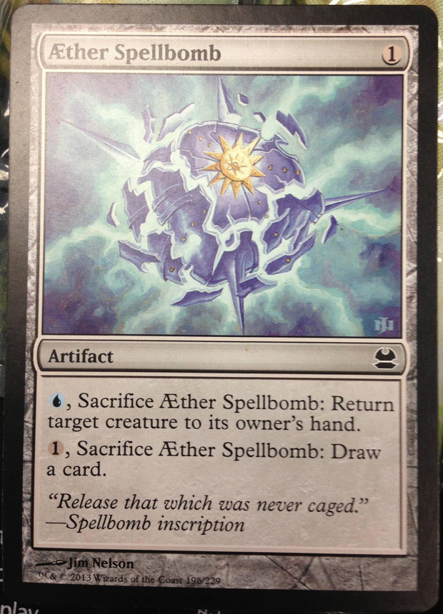 Aether Spellbomb in Modern Masters
