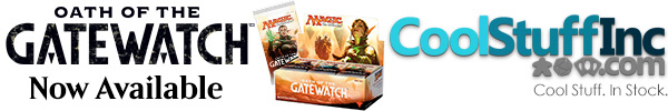 Order Oath of the Gatewatch at CoolStuffInc.com today!
