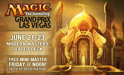 Preregister for Grand Prix Vegas featuring Modern Masters Sealed today!