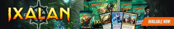 Ixalan is available now! Get singles and sealed for the latest set!